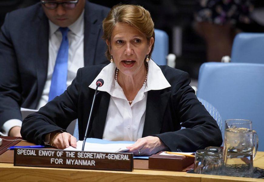 Répression au Myanmar : l'envoyée de l'ONU appelle le Conseil de sécurité à agir d'urgence