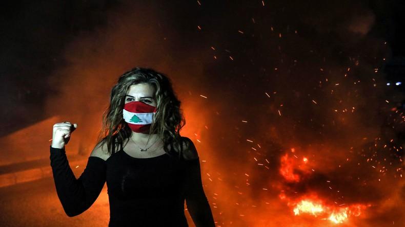 Liban : sixième jour de manifestation alors que la crise économique et politique se poursuit