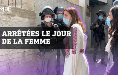 Des Palestiniennes célébrant la Journée des droits des femmes arrêtées en Israël (vidéo)