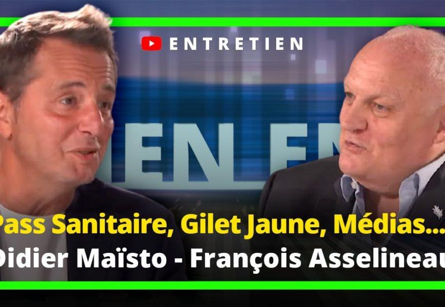 France / PassSanitaire, Gilet Jaune, Médias : Didier Maïsto répond à François Asselineau (Vidéo)