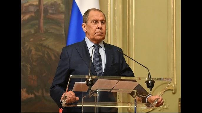 Conférence de presse du chef de la diplomatie russe et de son homologue libyen