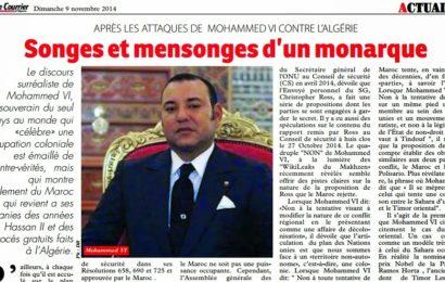 Les songes et mensonges de Mohammed VI