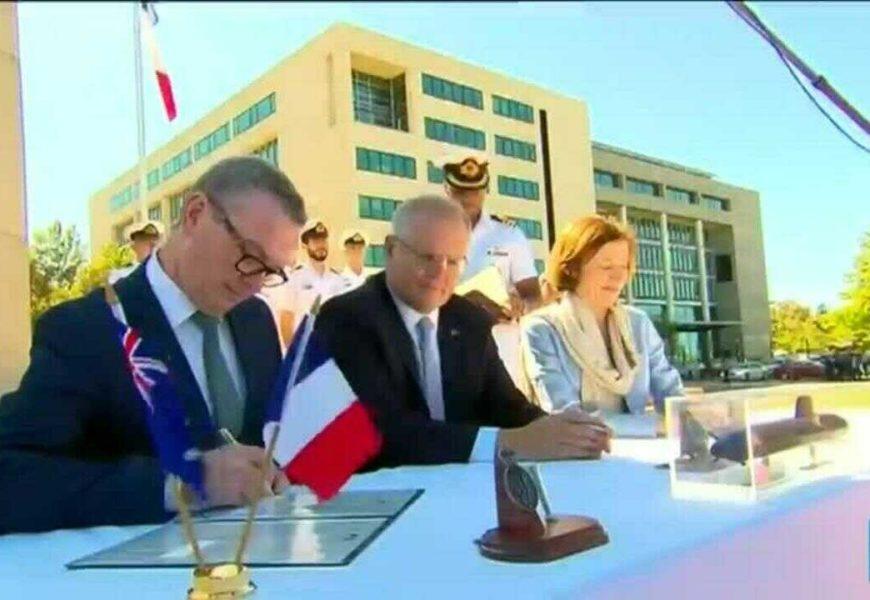 De UKUSA à AUKUS : Etats-Unis, Australie et Royaume-Uni scellent un nouveau pacte de sécurité en Asie-Pacifique : La France, dindon de la farce