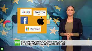 Comment les GAFAM sont devenus les champions du lobbying auprès des institutions de l'UE (VIDEO)